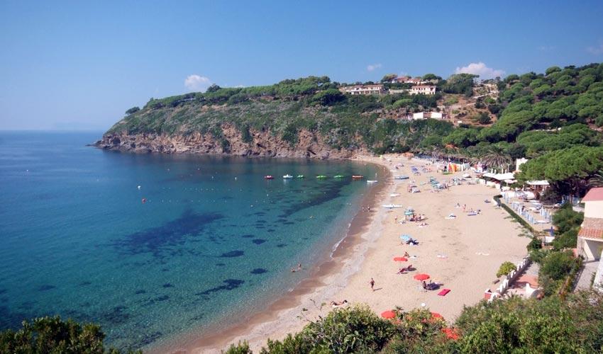 Spiaggia di Morcone, Elba