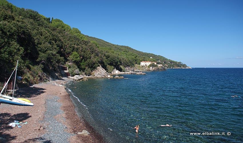 Spiaggia delle Sprizze, Elba