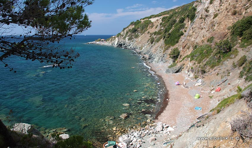 Spiaggia dell'Ogliera a Pomonte - Isola d'Elba