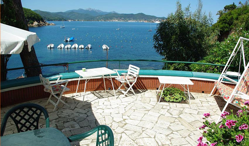 Villa Lia a Bagnaia, Elba