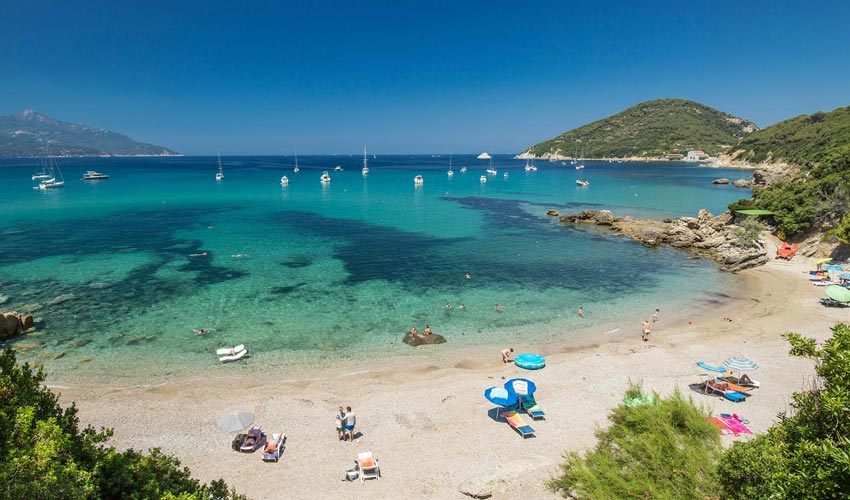 Spiaggia del Viticcio, Elba