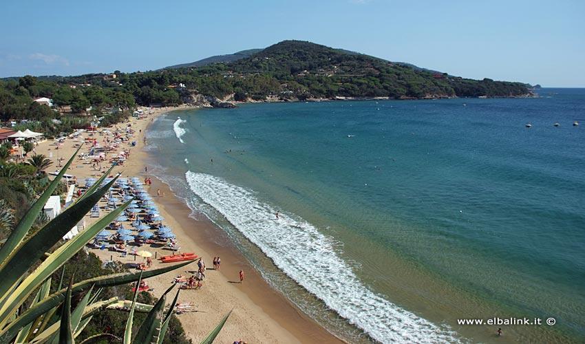 Lido di Capoliveri Beach, Elba