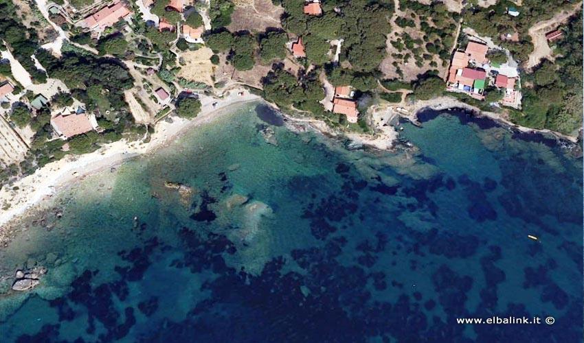 Spiaggia della Madonna delle Grazie, Elba