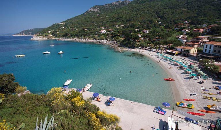 Spiaggia di Sant'Andrea, Elba