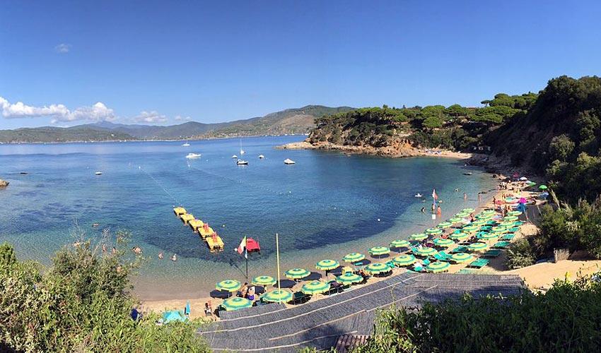 Spiaggia di Zuccale, Elba