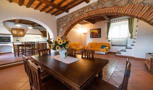 Villa on two floors