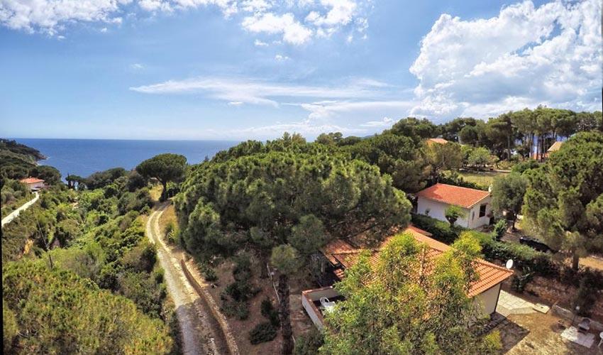 Villetta Verde, Elba
