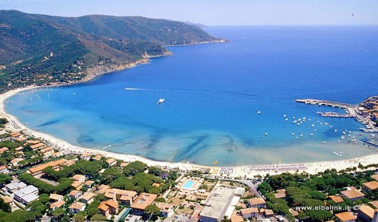 The Beach Of Marina Di Campo Elba Island Sandy Beaches