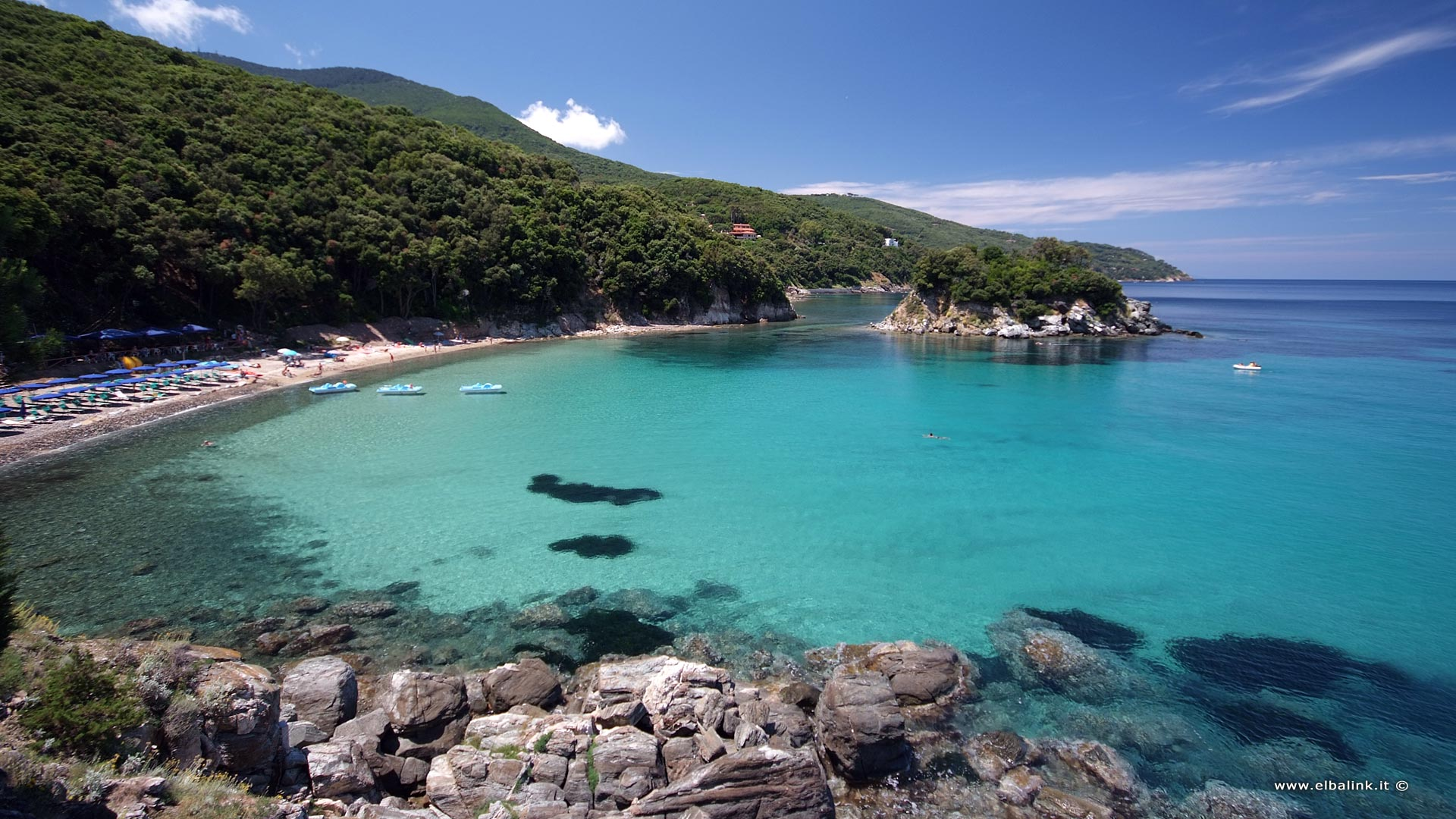 The Paolina Beach In Marciana Elba Island Beaches