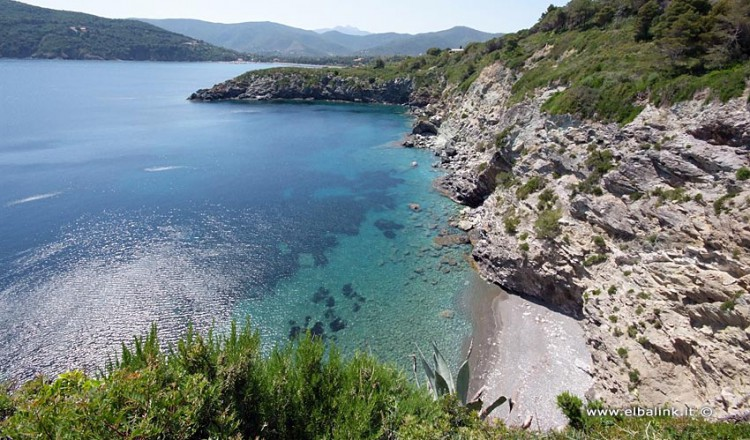 Spiaggia di Capo Pini - Isola d'Elba