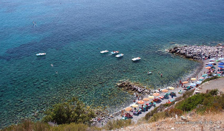Spiaggia del Quartiere a Pomonte - Isola d'Elba